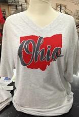 Ohio Short Sleeve V Neck