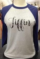Tiffin Light Gray w/ Blue Sleeves