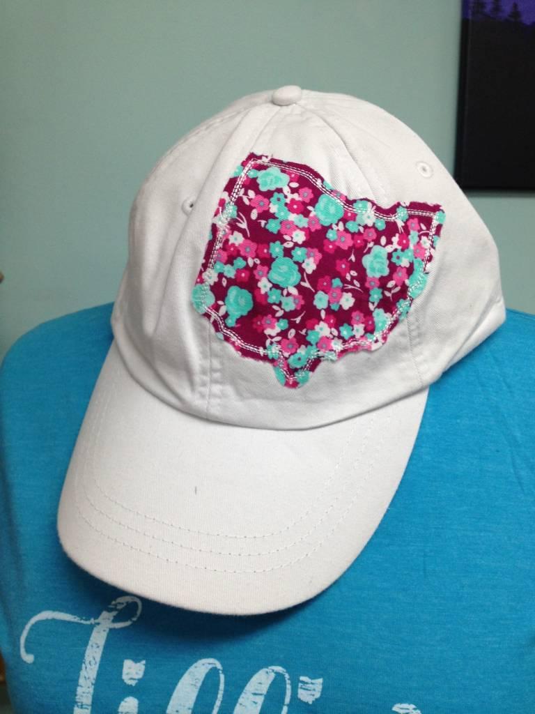 Maggie Ohio Hat White