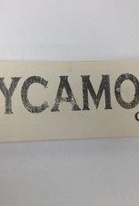 Sycamore 4x12 Sign