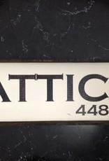 Attica 6x18 Framed