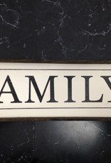 6x18 Family Framed