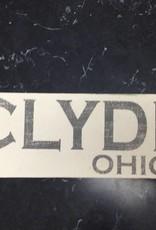 Clyde 4x12 Sign