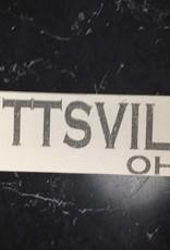 Bettsville 4x12 Sign