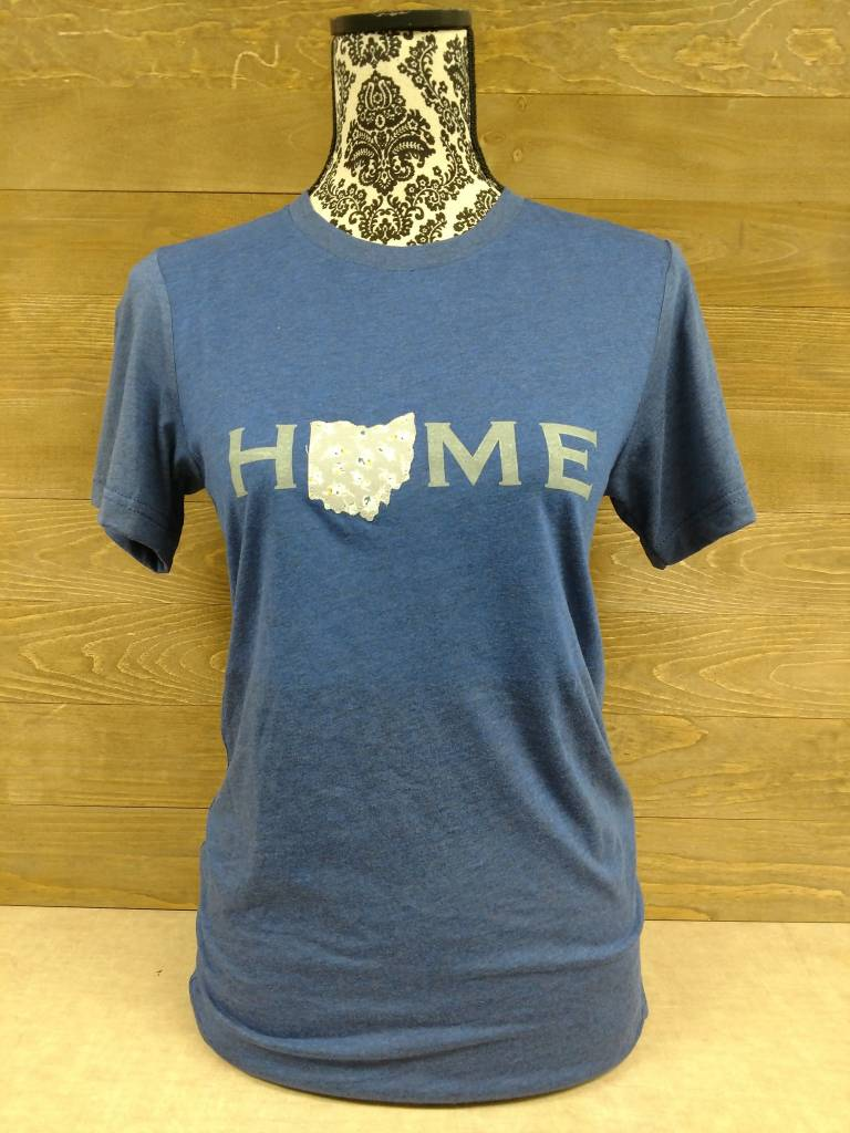 Navy Blue Home Shirt w/ Taylor Plaid