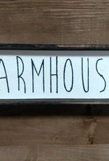 4X12 Farmhouse Framed Sign