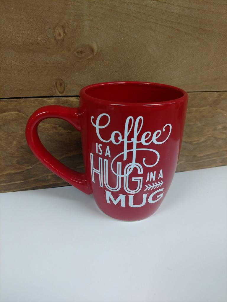 Hug in a Mug Red