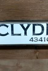 Clyde 6x18 Framed