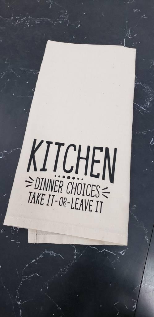 Kitchen Dinner Choices