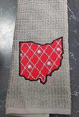 Buckeye Gray Ohio Towel