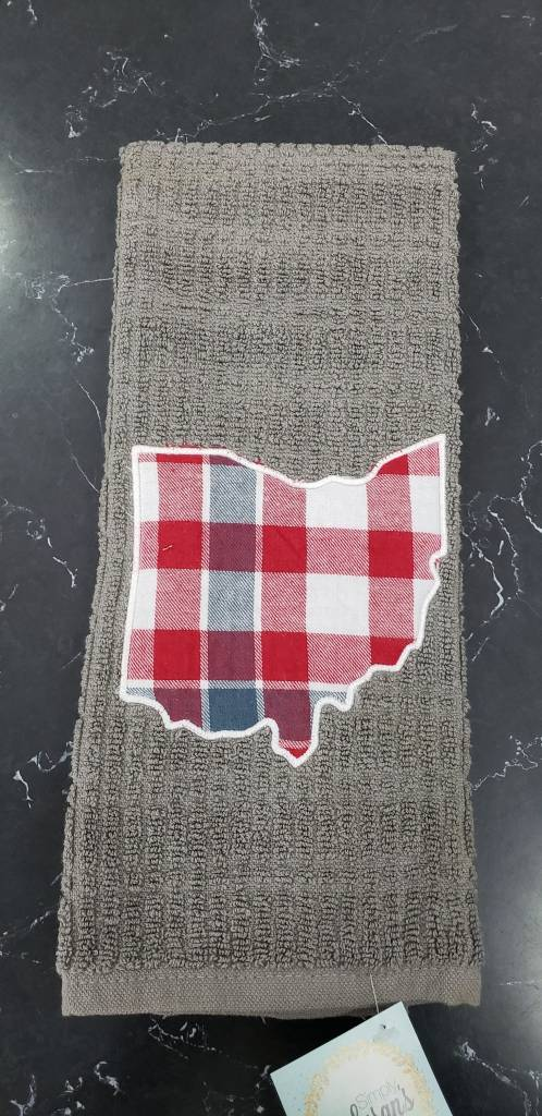 Cameron Gray Ohio Towel