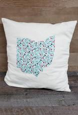 12x12  Ohio Pillow Megan