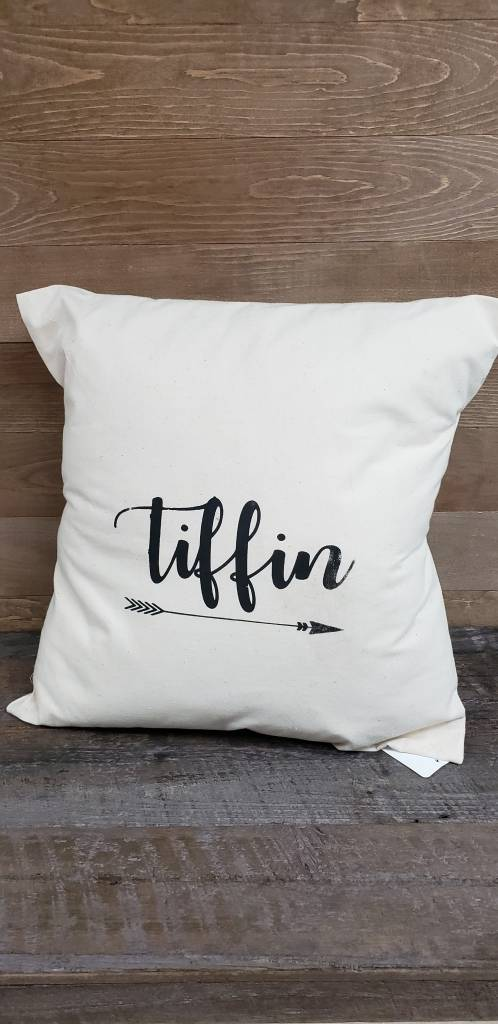 18X18 Tiffin Arrow Pillow