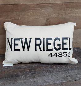 City Zip Pillow- New Riegel