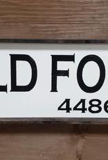 Old Fort 6x18 Framed
