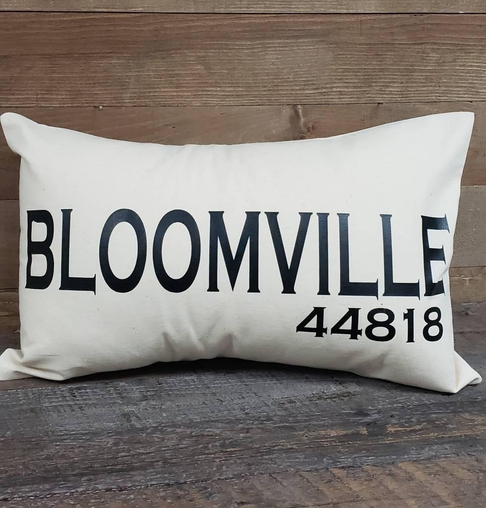 City Zip Pillow Bloomville