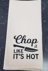 Chop It Like It's Hot Tea Towel