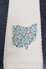Megan Cream Ohio Towel