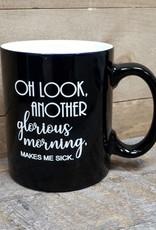 Another Glorious Morning Black Mug
