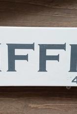 Tiffin 4x12 Grey/Cream  Sign