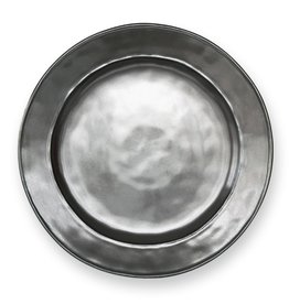 Juliska Juliska Pewter Collection stoneware dinner plate.