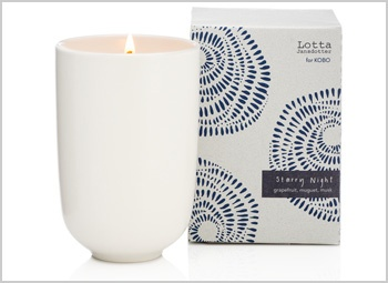 Kobo Starry Night Soy Candle