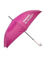 CarefulPeach Pink Full Length Umbrella