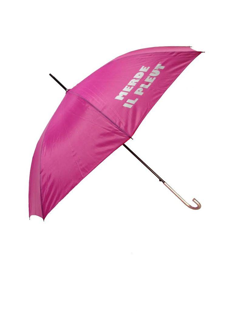 CarefulPeach Hot Pink Umbrella