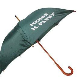 CarefulPeach Forest Green Full Length Umbrella- White, fiberglass