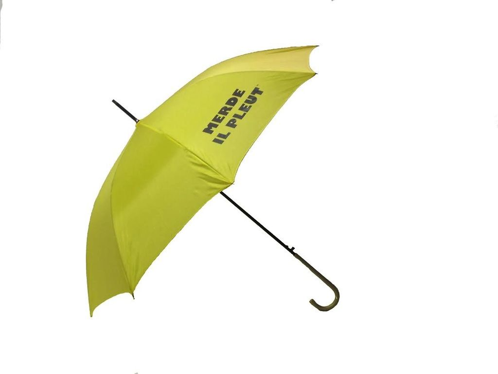 CarefulPeach Yellow Full Length Umbrella