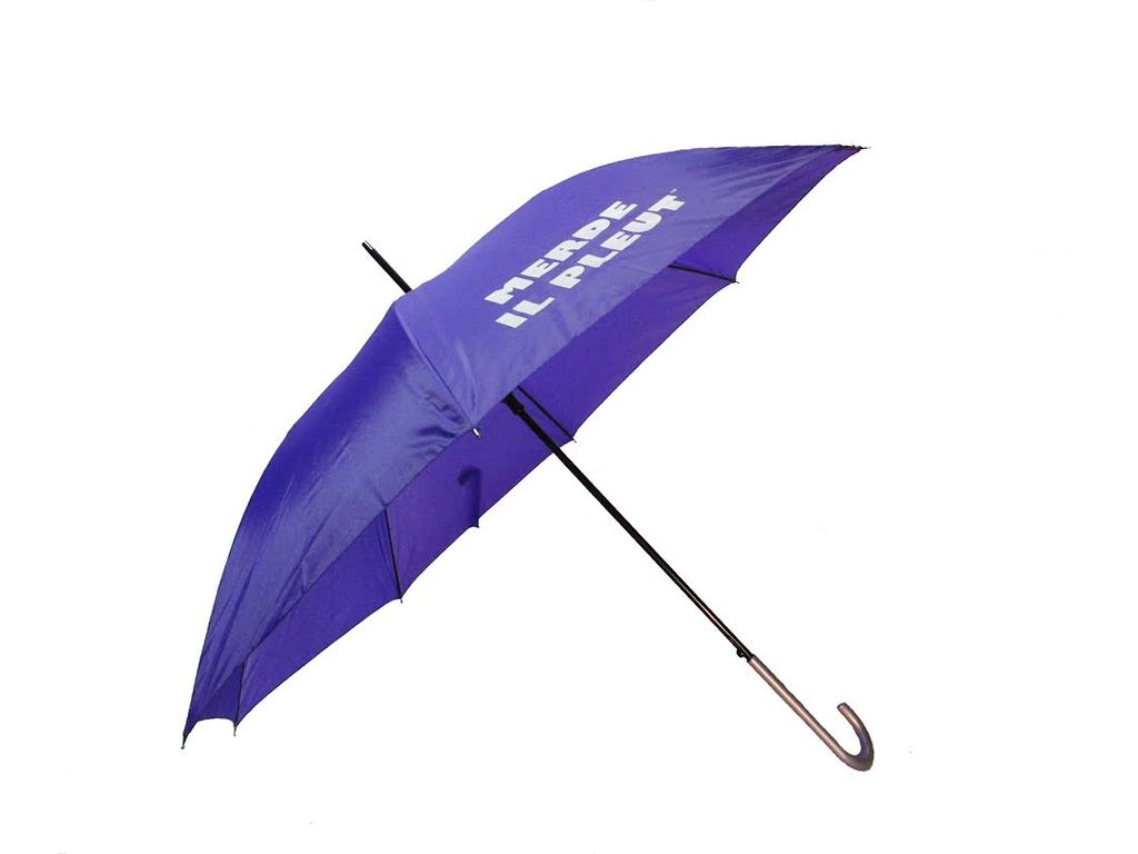 CarefulPeach Purple Full Length Umbrella