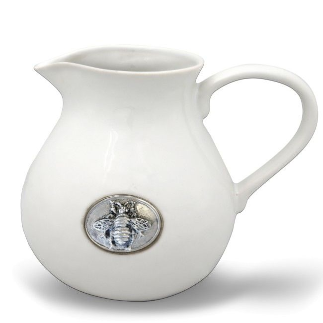 Wedding Registry Bee Stoneware Pitcher- Brittney & Caleb's Registry