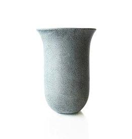 Soapstone Tulip Flared Vase