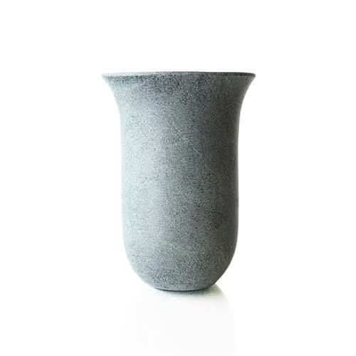 Soapstone Tulip Flared Vase-Brittney & Caleb's registry