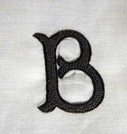 "Linen Hand Knotted Hand Towel  ""B"""