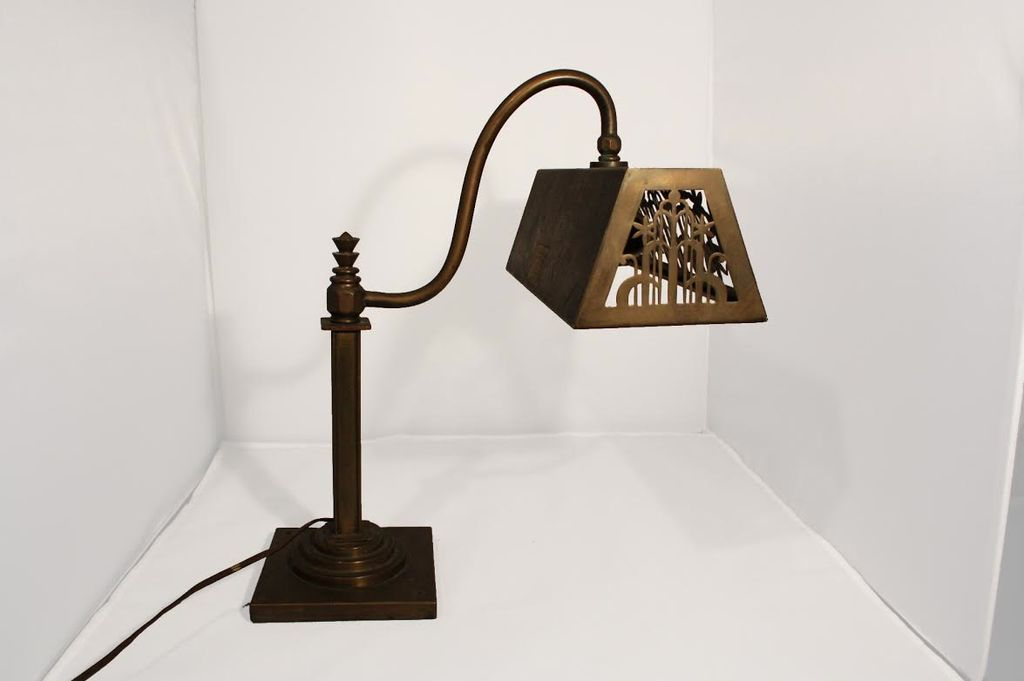 Wedding Registry Vintage Bankers Lamp- Brittney & Caleb's registry