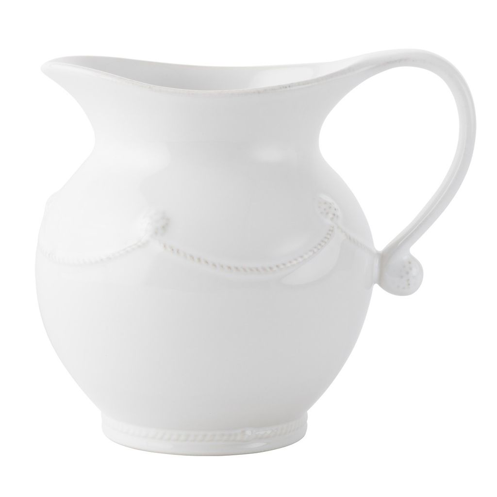 Wedding Registry Berry & Thread White Wash Pitcher- Michelle & David's Registry