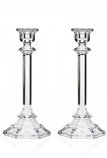 Pair of Pressed Glass Candlesticks- Michelle & David's Registry