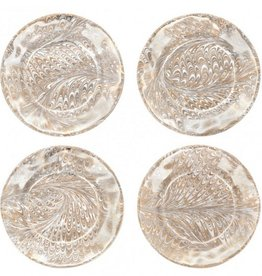 Medici Firenze Cocktail Plate Set of 4- Jessie & Alex's Registry