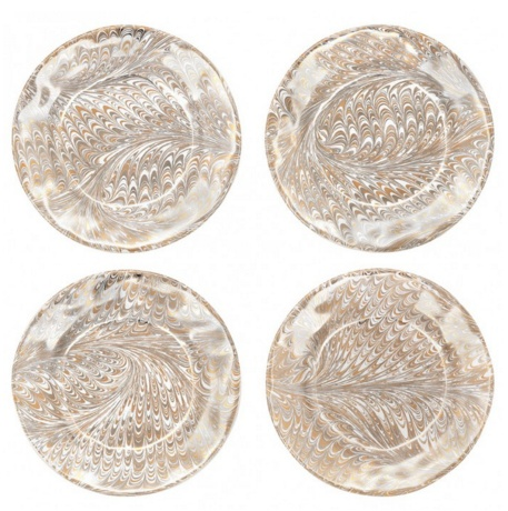 Wedding Registry Medici Firenze Cocktail Plate Set of 4- Jessie & Alex's Registry
