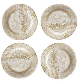 Cappuccino Cocktail Plate Set of 4- Jessie & Alex's Registry