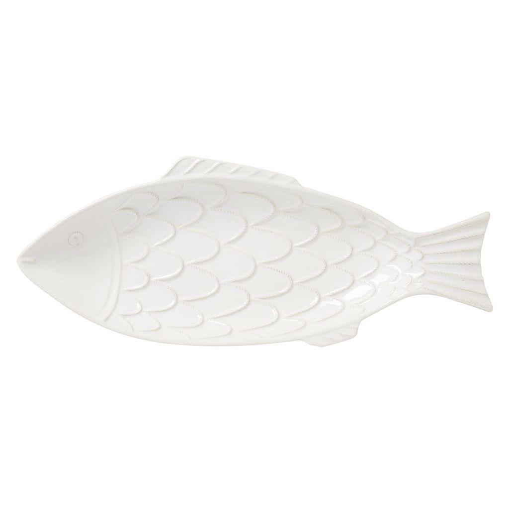Wedding Registry White Fish Platter- Emily & Ben's Registry