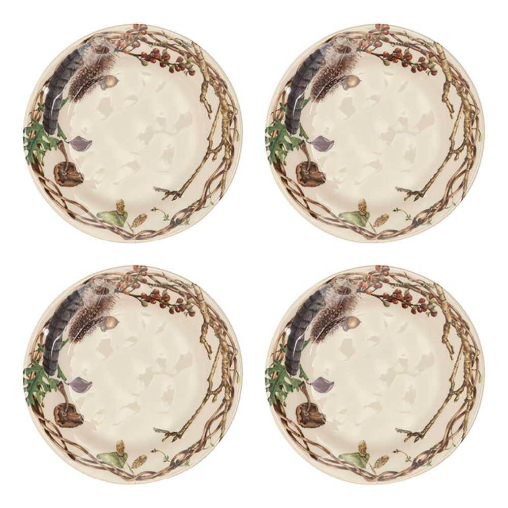 Wedding Registry Forest Walk Party Plate Set of 4- Emily & Ben's Registry