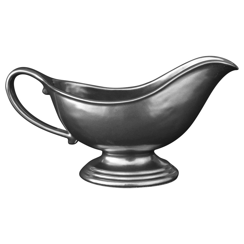 Wedding Registry Pewter Gravy Boat- Emily & Ben's Registry