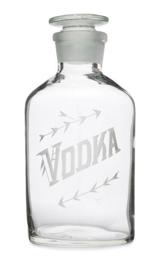Vodka Decanter- Elizabeth & Mike's Registry