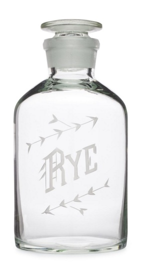 Wedding Registry Rye Decanter- Elizabeth & Mike's Registry