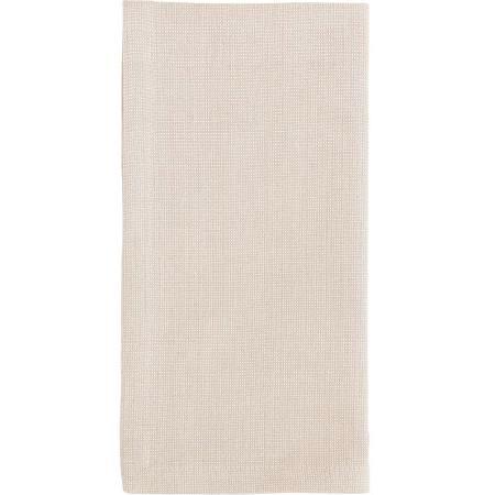 Cream Herringbone Linen Napkin- Emily & Ben's Registry