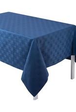 """67 x 67"""" Anneaux Tablecloth in 'Ultramarine'- Elizabeth & Mike's Registry"""