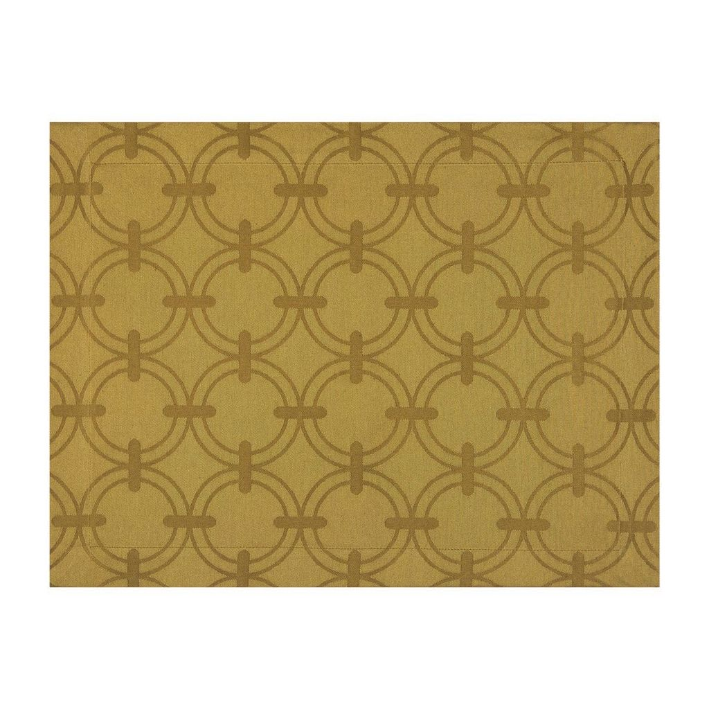Wedding Registry Anneaux Napkin in 'Gold'- Elizabeth & Mike's Registry