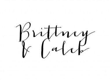 Brittney Collins & Caleb Mickelsen